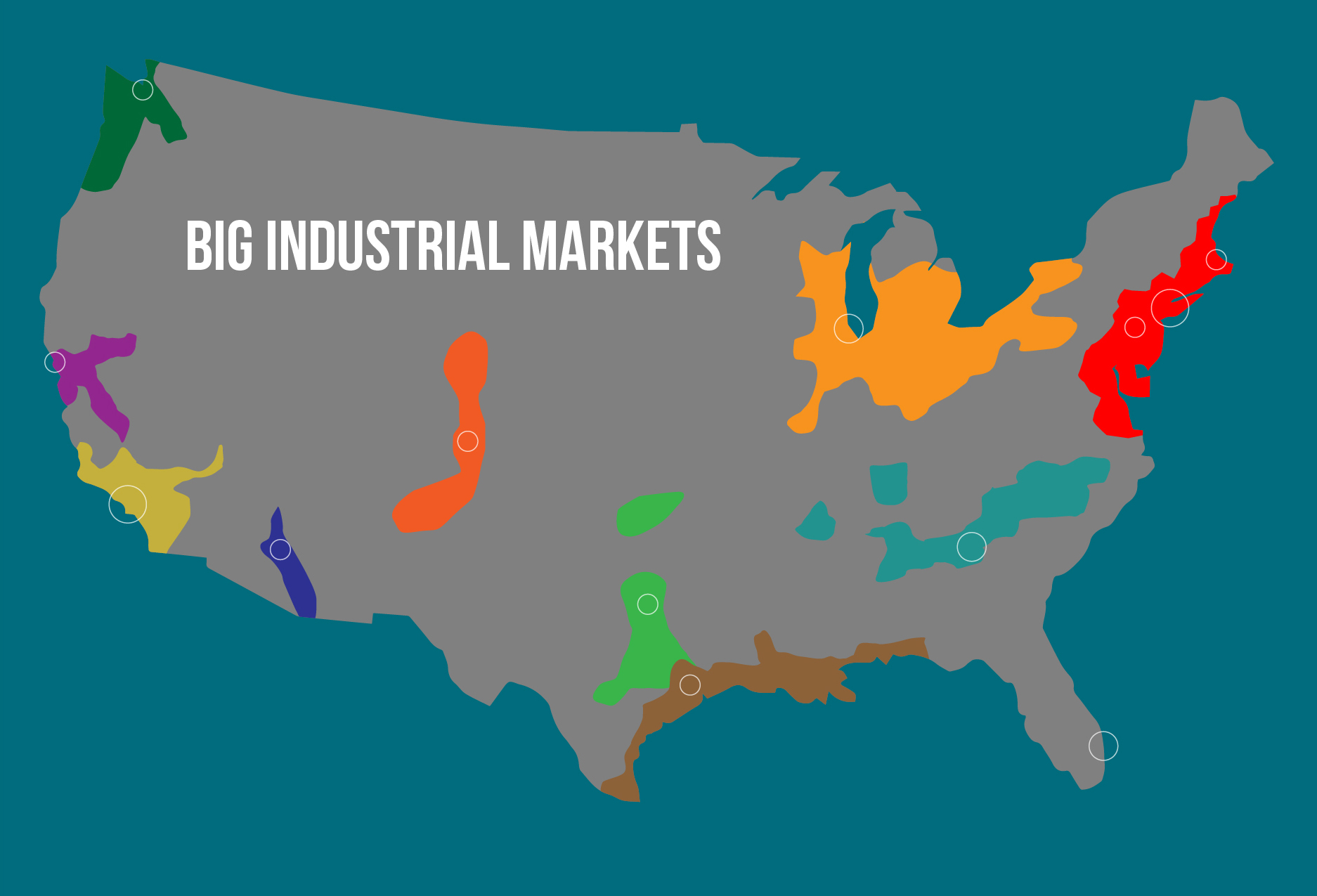 U.S. Big Industrial Map